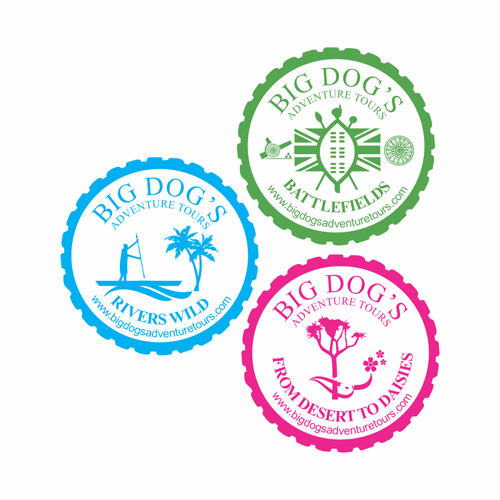 Big Dog's Adventure Tour Logos