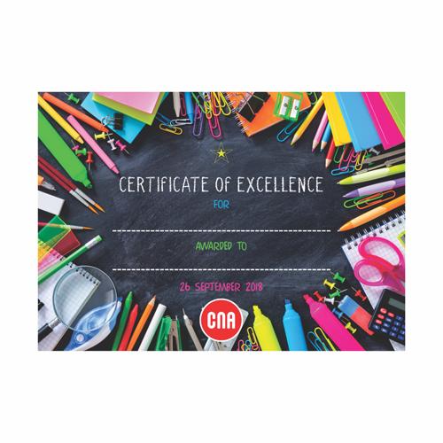 CNA Event Certificate Design